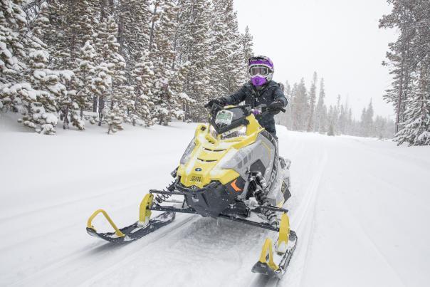 Why Try Snowmobiling Wyoming Snowy Range Brian Harrington-2