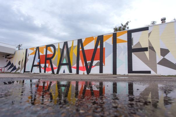 Yoga-Laramie-Mural