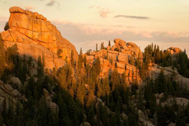 Turtle Rock Trail Sunset