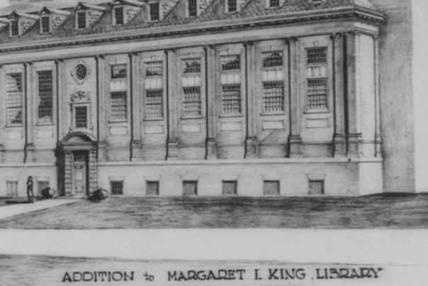 King Library Old Photo