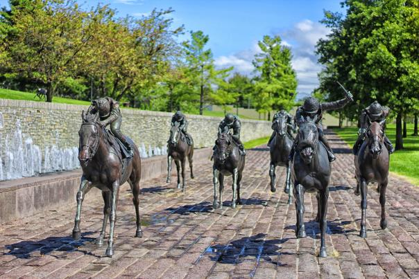 Thoroughbred Park in Summer