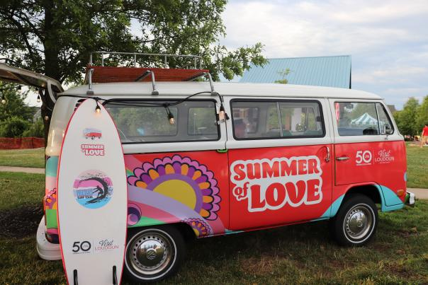 Summer of Love Bus -- Lovettsville