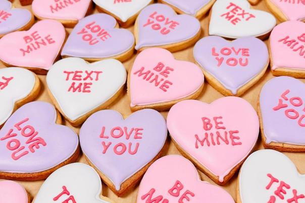 Mocatinas Valentine's Cookies