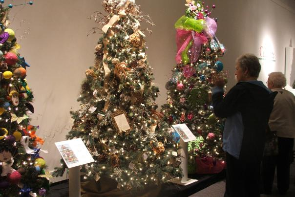 Guests Enjoying Festival of Trees