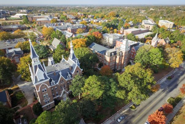 Mercer University Aerial