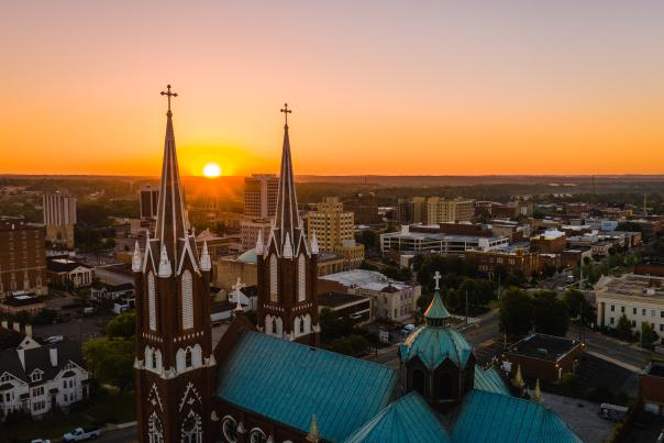 Drone Photo Saint Joseph Catholic Church