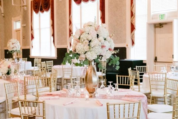 Southern florals and drapes