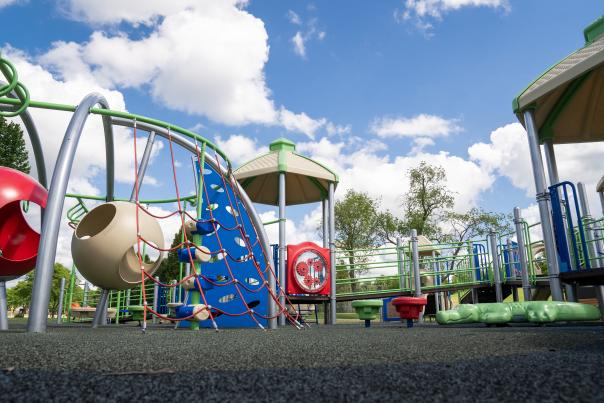The playground at Elver Park