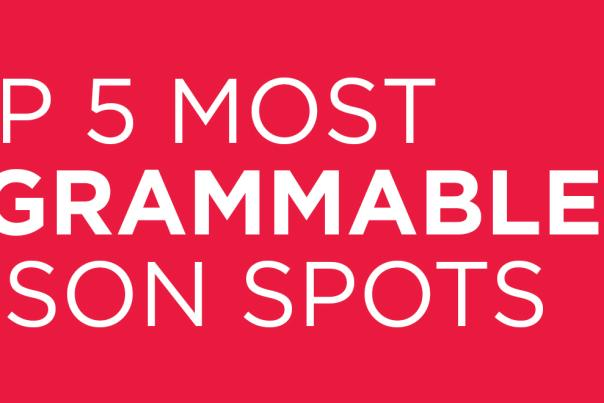 Top 5 Instagrammable Spots Article Image Header