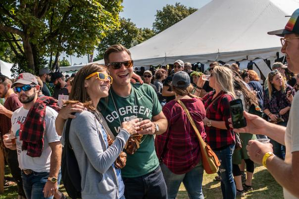 Scenes from the 2017 Fall Beer Fest in Marquette, Michigan.