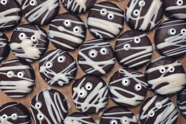 Mummy cookies from Towner's