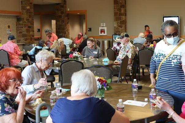 McKinney Senior Center reopening
