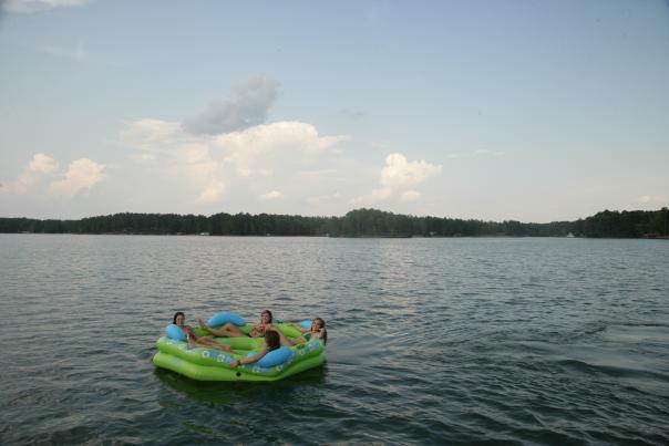 Lake Sinclair Raft