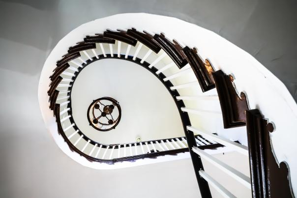 John Marlor Arts Center staircase