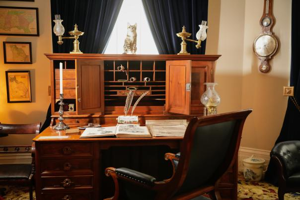 Desk at Old Governor's Mansion
