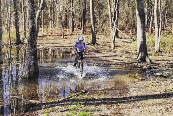 Biking at Bartram