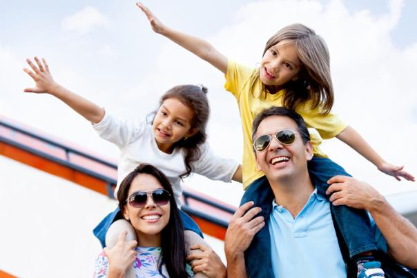 Family trip photo