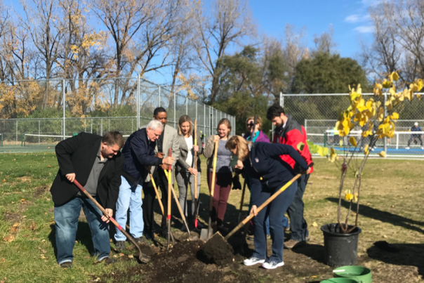 Norwood Park Tree Planting