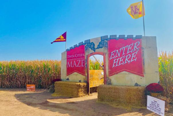 Tc harvest fest entrance photo