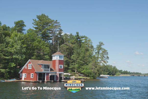 Lets minocqua wallpaper- boathouse