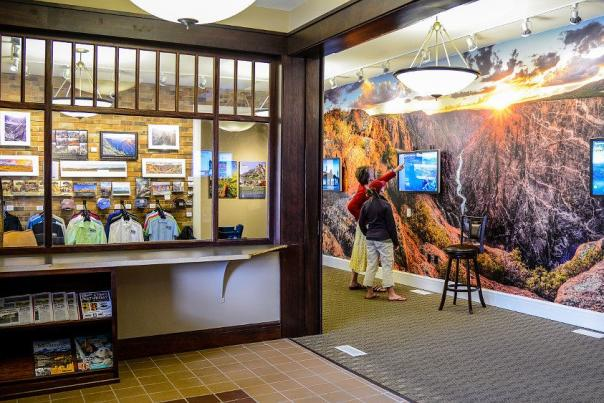 Visitor Center interior