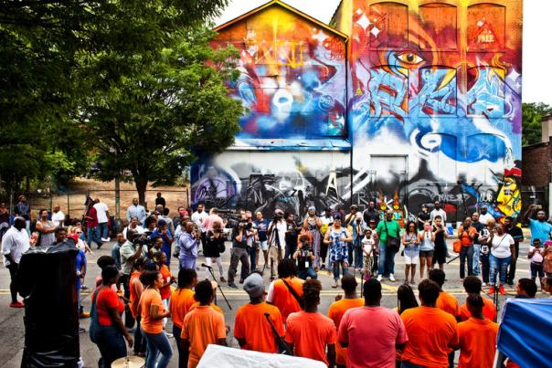Music speak_new mural