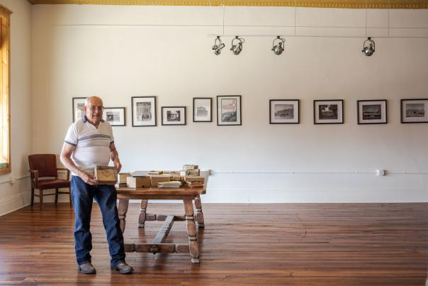Roger Joe Sanchez the director and curator at the Ratón Museum