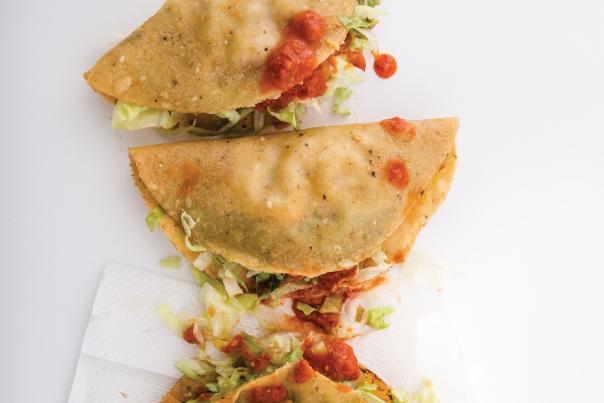 Tacos from El Parasol