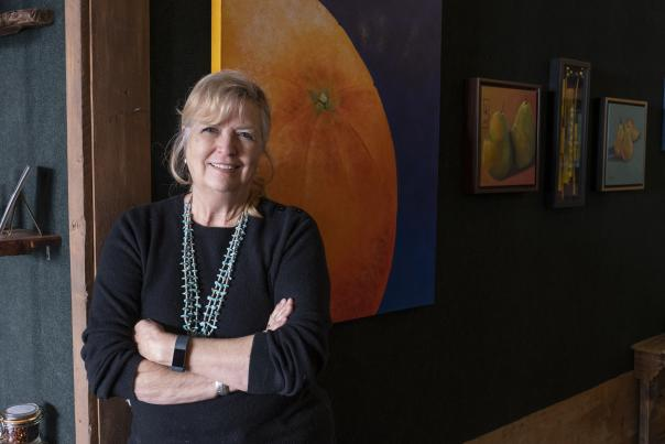 Beverly Taylor, Artist & Owner, Artifacts 302 Gallery, Farmington, New Mexico Magazine