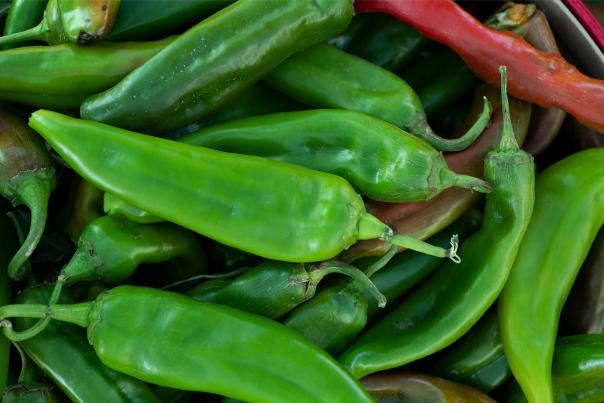 The Big Jim chile variety is notable for its size and heat. It's a statewide favorite for chiles rellenos.