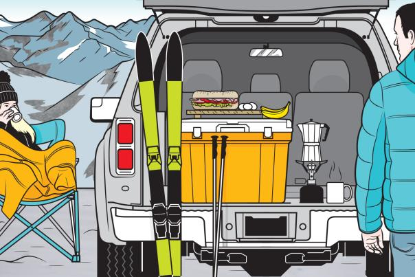 Turn your tailgate into a warm and comfy base camp with these expert tips, New Mexico Magazine