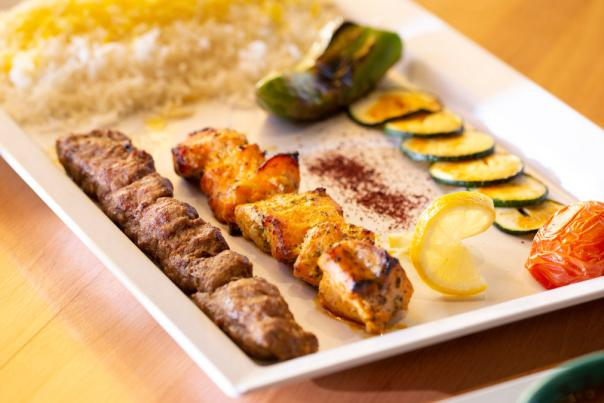 An assortment of popular dishes at Chello Grill.