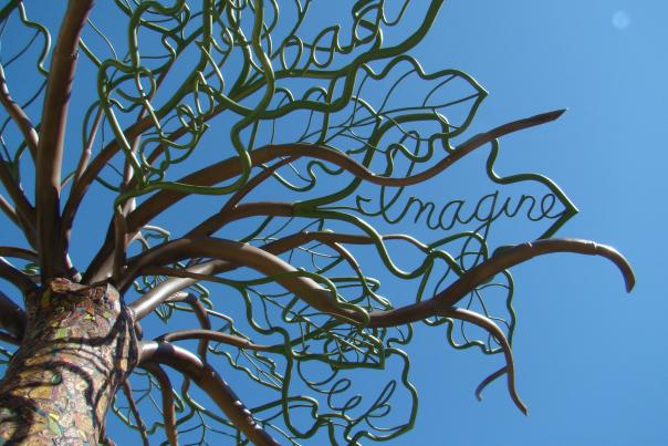 Tree of Knowledge, Roswell Public Library, New Mexico Magazine