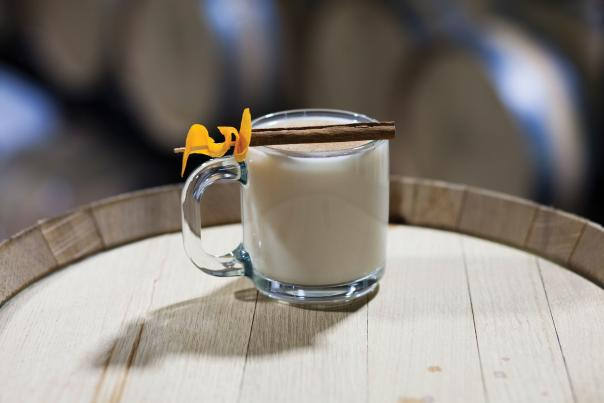 Get warm from the inside out with this hyperlocal toddy.