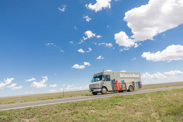 The Northeast Bookmobile hits the road.