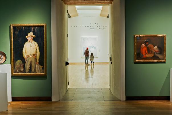 The Harwood Museum of Art.