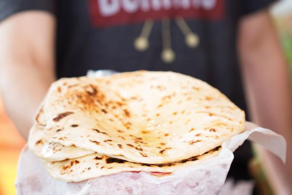 Tortillas from Duran's Central Pharmacy