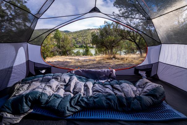 Lake Roberts at Mesa Campground