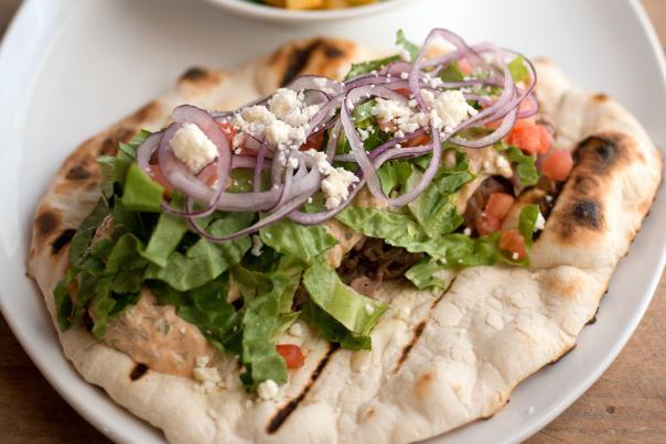 Tesuque Gyro from Pueblo Harvest Cafe