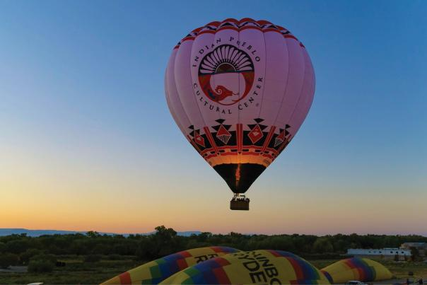 Indian Pueblo Cultural Center Hot Air Balloon