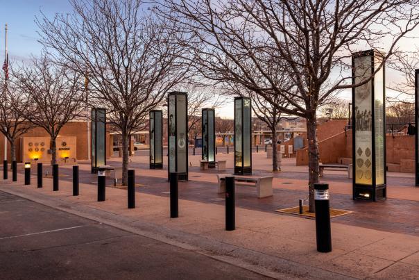 Veterans Memorial in Gallup