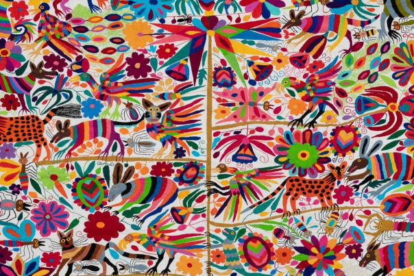 Otomi Textile by Julio Laja Chichicaxtle