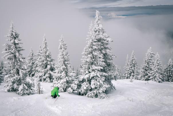Jonathan Ellsworth at Ski Santa Fe.