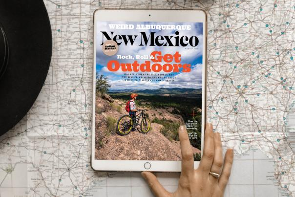New Mexico Magazine August Issue is now live on the app