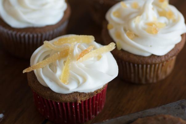 Ginger-Infused Cupcakes
