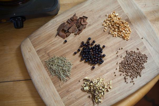 Gin Ingredients from Dry Point Distillers in Las Cruces