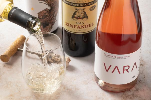 Selection of wine pairings for Thanksgiving
