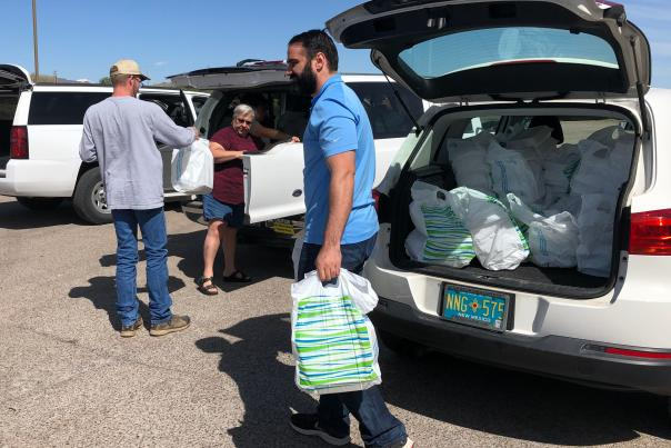 Socorro Schools Shuttle Food to Students
