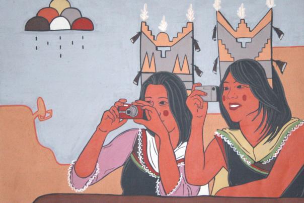 Corn Maiden No. 13, by Jason Garcia, of Santa Clara Pueblo.