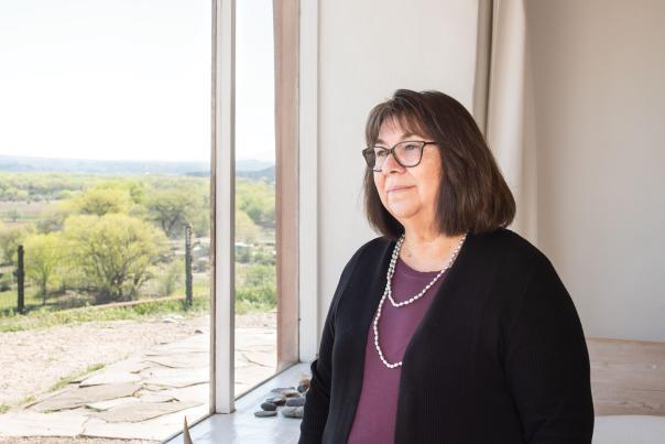 Pita Lopez from Georgia O'Keeffe's estate